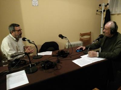 Antonio Cruz en Radio con Valuja