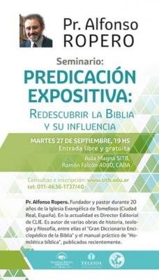 Cartel Alfonso Ropero Argentina