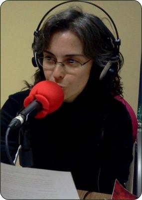 """MATI SANCHIZ-Presentadora de  """"El escondite de los libros"""""""