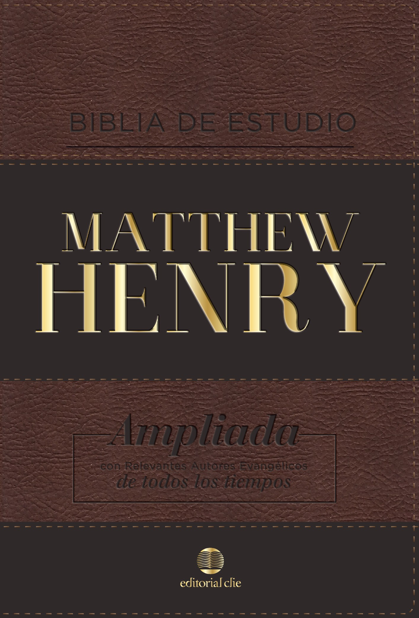 BIBLIA DE ESTUDIO MATTHEW HENRY (Leathersoft Clásica/ sin índice)