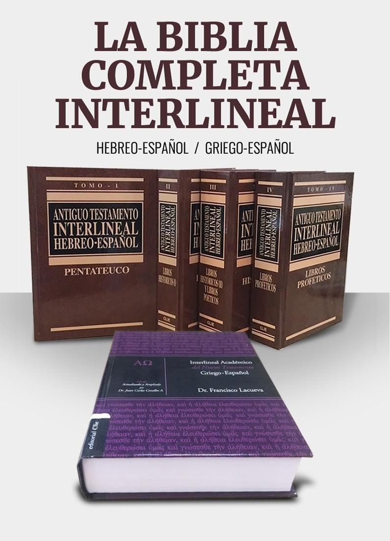 La Biblia completa interlineal