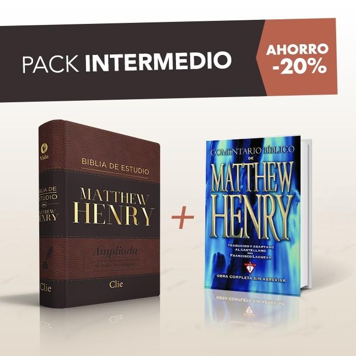 PACK MATTHEW HENRY INTERMEDIO