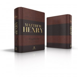 BIBLIA DE ESTUDIO MATTHEW HENRY (Leathersoft clásica/ con índice)