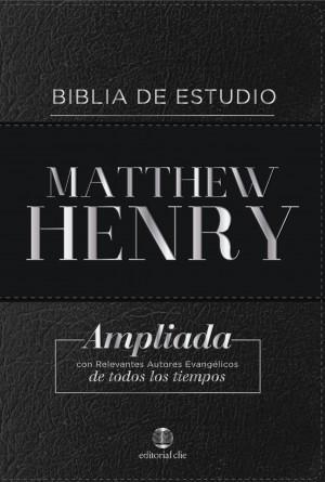 BIBLIA DE ESTUDIO MATTHEW HENRY (Bonded leather/ sin índice)