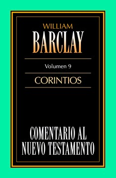 09. Comentario al Nuevo Testamento de William Barclay: Corintios