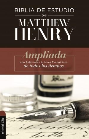 BIBLIA DE ESTUDIO MATTHEW HENRY (Tapa Dura/ sin índice)