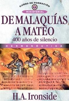 De Malaquías a Mateo