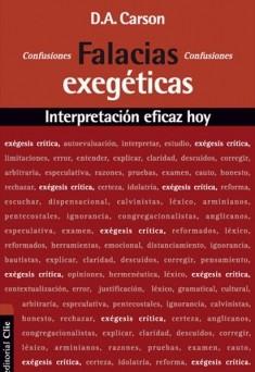 Falacias Exegéticas Interpretación eficaz hoy