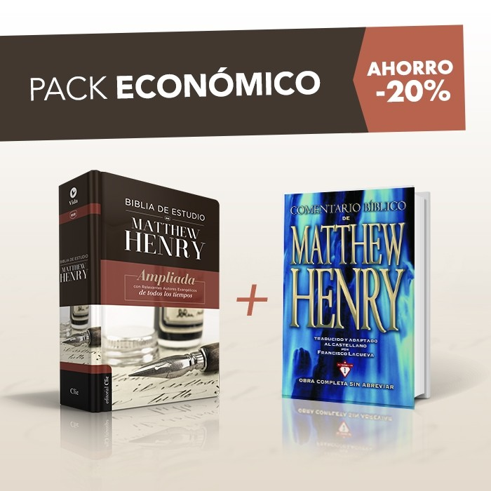 PACK MATTHEW HENRY ECONÓMICO