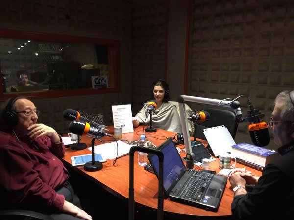 Eliseo y Anna en Dynamis Radio2