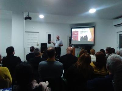 Presentación de Ernest Klassen El Campello 12-11-2016